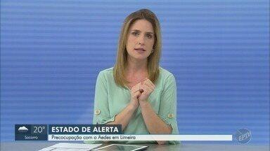 Prefeito de Limeira decreta estado de alerta por risco de proliferação do Aedes aegypti - Estado de alerta na cidade de Limeira (SP), prefeitura tomou medida após uma avaliação feita pelo Ministério da Saúde.
