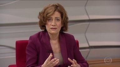 'É uma crise no coração do Governo', diz Miriam Leitão - Miriam Leitão fala sobre a crise que o presidente Jair Bolsonaro enfrenta. No centro do desgaste está a denúncia de que o PSL teria usado uma candidata laranja nas eleições.