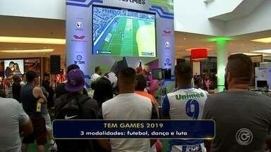 Inscrições para o TEM Games estão abertas em Sorocaba - O TEM Games, da TV TEM, acontece nos dias 9 e 10 de março em Sorocaba.