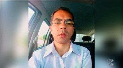 Família do taxista morto pede justiça para o crime - Irmão se emociona ao falar sobre o último encontro com o taxista.