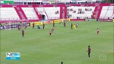 Náutico vence Flamengo de Arcoverde, nos Aflitos - Time do Recife ganhou de 4x 2, em partida válida pelo Campeonato Pernambucano