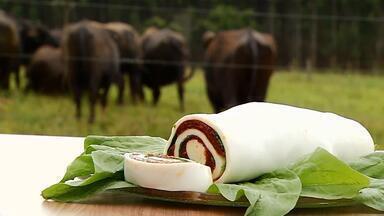 Produção de manta de muçarela de búfala está em expansão em Uberaba - Equipe do MG Rural foi até um assentamento no Triângulo Mineiro conhecer mais sobre o desenvolvimento do produto.