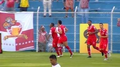 Os gols da vitória do Vila Nova sobre a Aparecidense por 2 a 1 - Alan Mineiro marca duas vezes, e Tigre ganha fora de casa