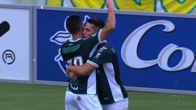 Os gols da vitória do Goiás sobre o Goiânia - Verdão ganha por 2 a 1 e continua 100% no Goianão