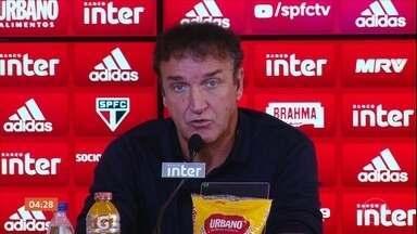 São Paulo apresenta o técnico Cuca - De fato, o novo técnico só vai assumir a função daqui a dois meses.