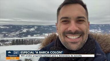 """Bastidores da produção """"A Barca Colon"""" - Bastidores da produção """"A Barca Colon"""""""