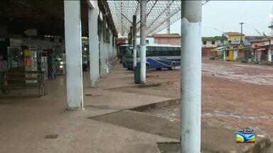 Usuários reclamam de falta de infraestrutura no Terminal Rodoviário em Santa Inês - Falta de segurança é um dos problemas enfrentados pelos usuários que frequentam o local.