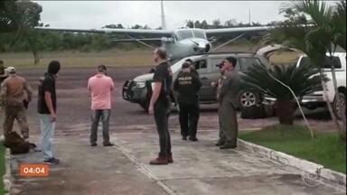 Operação da PF contra o tráfico de drogas prende 28 pessoas no Tocantins - Além das prisões, 11 aviões foram apreendidos.