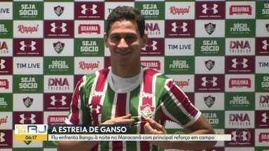 Ganso estreia no Flu - Time tricolor enfrenta o Bangu no Maracanã e torcida enfim poderá ver em campo a maior contratação do clube este ano.