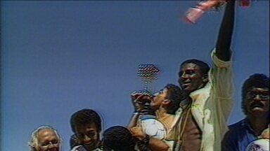 Os campeões de 1988 pelo Bahia relembram a campanha e a festa pelo título do Brasileirão - Os campeões de 1988 pelo Bahia relembram a campanha e a festa pelo título do Brasileirão