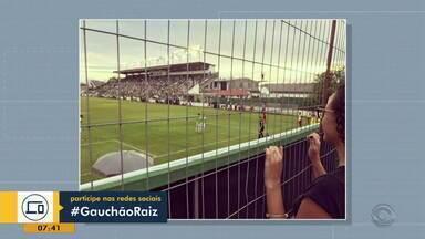 Telespectadores compartilham momentos pela #GauchãoRaiz - Assista ao vídeo.