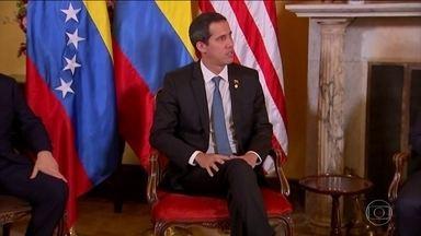 Juan Guaidó vem ao Brasil para reunião com o presidente Jair Bolsonaro - Juan Guaidó tem uma reunião marcada com o presidente Jair Bolsonaro nesta quinta-feira (28).