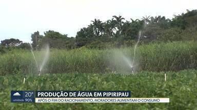 Oito meses após o fim do racionamento, consumo de água no DF sobe - De acordo com a Adasa, foi um aumento pequeno, mas os moradores não devem relaxar e precisam manter o consumo consciente.