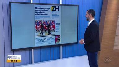 Confira destaques de publicações impressas do RS desta quinta-feira (28) - Assista ao vídeo.