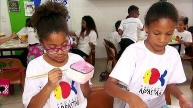 Projeto Arrastão atende crianças, adolescentes e famílias de um bairro pobre de São Paulo - Há 50 anos, ONG atua nas áreas da educação, cultura, geração de renda e qualidade de vida