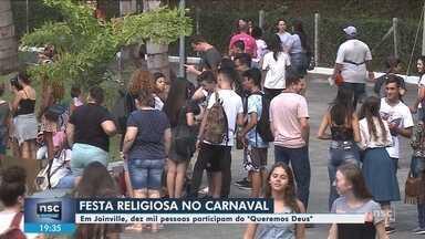 Joinville sedia festa de carnaval religiosa - Joinville sedia festa de carnaval religiosa