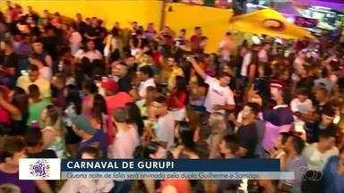 Dupla Guilherme & Santiago deve embalar a penúltima noite de carnaval em Gurupi - Dupla Guilherme & Santiago deve embalar a penúltima noite de carnaval em Gurupi