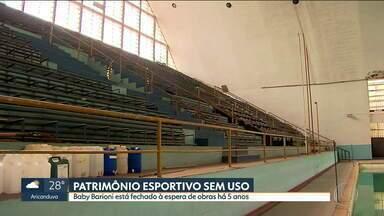 Centro Esportivo Baby Barioni está fechado há cinco anos - Não há prazo para que reforma seja feita em centro na Água Branca.