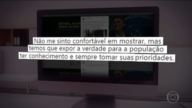 Bolsonaro posta vídeo obsceno no Twitter e publicação repercute - No tuíte, presidente posta o vídeo de um ato obsceno ocorrido em um bloco de carnaval. Aliados e opositores se manifestaram.