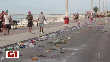 Quantidade de lixo produzida durante carnaval de Cabo Frio é notícia nas páginas do G1 - Assista a seguir.