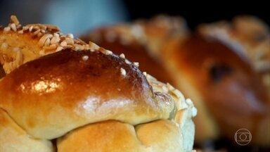 Melhor padeiro do mundo usa receitas dos avós e ingredientes da vizinhança - O alemão Jochen Baier venceu um concurso internacional. Na busca pela perfeição, ele diz que o sucesso foi juntar a cozinha moderna com o jeito antigo de fazer pão.