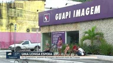 Exames de imagem em Guapimirim demoram mais de 9 meses - Marcações de exames pedidos em fevereiro estão sendo feita só para novembro e dezembro.