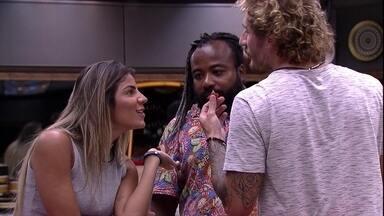 Hariany pergunta para Rodrigo: 'Ficou chateado?' - Sister questiona brother