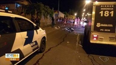 Homem de 27 anos é morto a tiros no bairro São Miguel, em Colatina, ES - Ele foi atingido por quatro tiros.