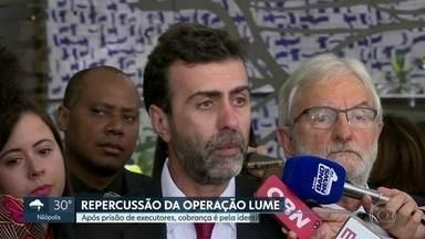 Após prisão de acusados pela execução do crime, cobra-se a identificação de mandantes - Deputado federal Marcelo Freixo (PSOL), com quem Marielle trabalhou por mais de 10 anos, afirma que prisão de Ronnie Lessa e Élcio Queiroz é apenas o primeiro passo.