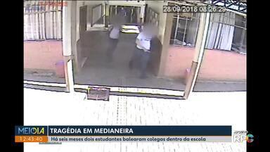 Estudante atingido por tiro em escola de Medianeira, ano passado, ainda faz fisioterapia - Seis meses depois, escola de Suzano, em São Paulo, também é alvo de atiradores.