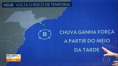 Temporais podem voltar a atingir a Grande São Paulo - Tempestades são esperadas entre o meio da tarde e o início da noite; chove mais fraco na madrugada