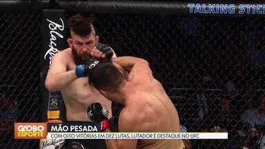 Após vencer no UFC, Vicente Luque se prepara para casar - Cartel do lutador conta com 8 vitórias em 10 combates.