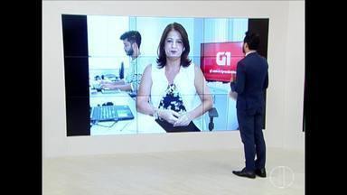 Confira os destaques do G1 nesta quinta-feira (14) - Goleiro da Chapecoense fere ex-namorada com uma faca, rouba celulares e destrói salão em Espinosa.
