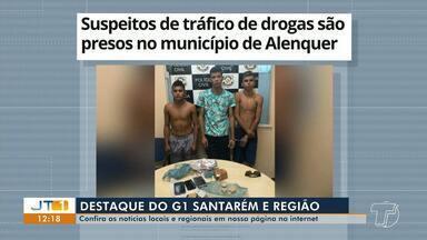Prisão de jovens por tráfico de drogas em Alenquer é destaque no G1 Santarém e região - Veja essa e outras notícias pelo celular, computador e tablet.
