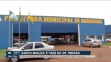Operação Pregão investiga crimes de fraudes em licitações - Gaeco cumpriu 5 mandados de prisão e 8 de busca e apreensão em Campo Grande e em Dourados.