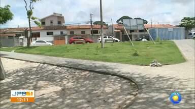 Calendário JPB no Castelo Branco, em João Pessoa - Falta pouco para entregar a praça.