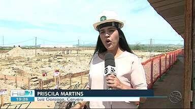 Obras da maternidade de Caruaru são retomadas - Previsão é que obra seja entregue no segundo semestre desse ano.