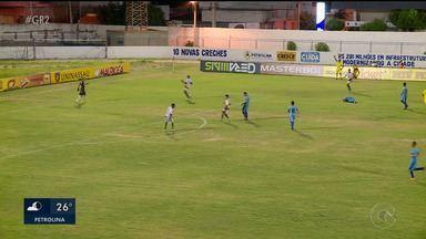 Petrolina empata em 0 a 0 com Vitória-PE - O jogo foi no Paulo Coelho