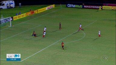 Salgueiro perde de goleada para o Sport pelo Pernambucano - O jogo foi na Ilha do Retiro