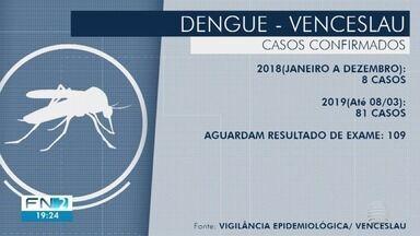 Casos de dengue disparam em Dracena e Presidente Venceslau no início de 2019 - Cerca de 50% dos pacientes não continuam o tratamento na cidade da Alta Paulista.