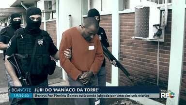 Juri popular de homem acusado de matar uma mulher é realizado em Maringá - Roneys Fon Firmino também é acusado de matar, pelo menos, outras seis mulheres.