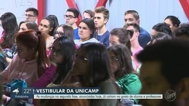 Unicamp anuncia mudanças no vestibular 2020 - Número de dias foram reduzidos na segunda fase. Processo seletivo agora terá dois dias e não mais três.