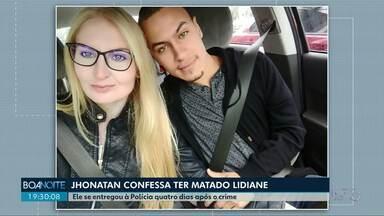 Home que confessou ter matado a namorada se entrega a polícia de Ponta Grossa - Ele ficou foragido por quatro dias.