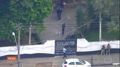 Polícia espera decisão sobre apreensão de menor suspeito de participar de ataque em Suzano - O adolescente de 17 anos seria o terceiro suspeito de participar do ataque na escola Raul Brasil.