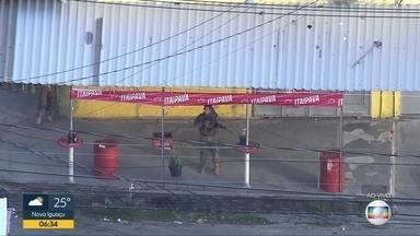 Polícia realiza operação em Cavalcanti - Polícia realiza operação em Cavalcanti