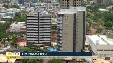 Contribuintes têm até esta sexta-feira para pagar o IPTU de Palmas com 10% de desconto - Contribuintes têm até esta sexta-feira para pagar o IPTU de Palmas com 10% de desconto