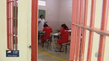 Penitenciária tem o maior número de estudantes detentos de Minas em Três Corações - Penitenciária tem o maior número de estudantes detentos de Minas em Três Corações