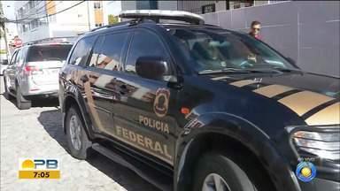 """PF cumpre mandados de prisão contra grupo suspeito de agiotagem extorsiva, na PB e AP - Prática colombiana é chamada de """"cobro"""" ou """"cobrito"""", que concede empréstimos a juros extorsivos."""