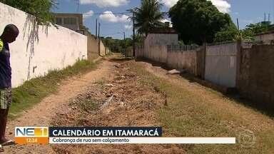 Moradores de Itamaracá reclamam de lixo acumulado e falta de calçamento em Itamaracá - No bairro do Forte Orange, um dos pontos turísticos do local, sujeira e falta de mobilidade comprometem o ambiente.