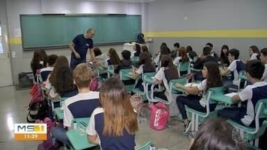 Escolas de Campo Grande desenvolvem projetos de prevenção à violência - Duas unidades da rede municipal usam câmeras pra monitorar a circulação de pessoas